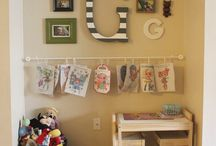 For the kids up stair bedroom redo / by Mandee Chris Heward