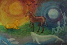 Waldorf Paintings / by Cincinnati Waldorf School