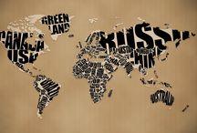Maps / by Courtney Dzuris