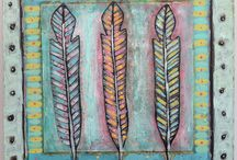 Feathers / by Willowing Arts Ltd