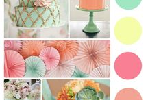 color palettes / by Nicole Thibeault Merry