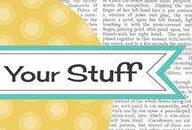 Scrap Books & Blogsites / by Linda Carmon