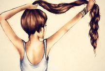 Hair / by Neshka Roshe