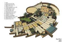 Houses - plans / by Raewyn Overton-Stuart