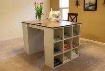 Sewing room ideas / by Barbara Plata
