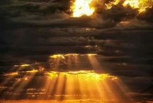 Clouds / The clouds always reminds me of our Heavenly Father / by Rene French