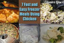 Freezer Meal Ideas / by Melissa Kloosterman (Melissa's Cuisine)