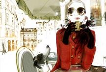 Fashion illustration / by Emily Church