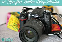 Better Blog Photos / Pins relating to taking and creating better photos for your blog or website / by CameraShy