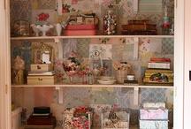 Craft room / by Stephanie Lozito Gonyea