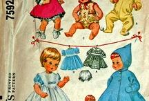 Doll clothes & accessories / by Sara Escalante Ore