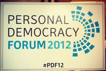 Personal Democracy Forum / Scenes, stories, and insights from Personal Democracy Forum, every June at New York University. #PDF13 #PDPlus / by Yangbo Du