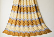 Crochet RippleAlong Blankets / Ripple and chevron crochet blankets  / by The Crafty Mummy