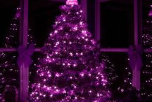 Purplefectly Purple Christmas / Loves of the color purple for Christmas,  blues , pinks , whites , silver, Etc ..... Have a Purplefectly Purple Christmas ! / by TEE