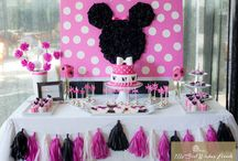 Minnie Mouse party  / by Erin Elizabeth