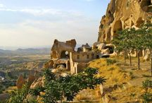 The Two Faces of Cappadocia - a walking holiday in Turkey / Discover the amazing landscapes of Cappadocia as you walk through some of the strangest rock formations you will ever see. This is one place where the word 'unique' really applies. At first glance, they resemble some unearthly or prehistoric abandoned city and yet, just as they were home to the persecuted in the past, today some now house more modern dwellings.  http://ow.ly/tveFR / by Inntravel