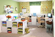 Craft Room/Office Ideas / by Katie Wagner