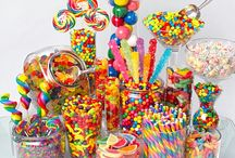 Candy buffet / by Khloe Tovarich