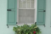 Charleston windows / by Ashley Kear