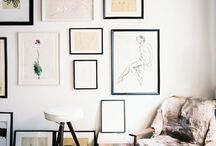 FRAMES / All about framing & Hanging Art / by Ccil .