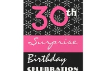 Birthday Parties - SURPRISE Parties / To see more surprise party invitations, stamps, stickers and gift ideas, check out www.zazzle.com/jaclinart_surprise*/ / by JaclinArt