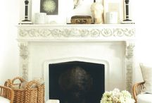 mantles / by Holly Mathis Interiors