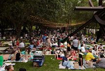 Summer Block Party '14 / 30k+ people through the doors of the Nasher, DMA, and Crow Collection combined! Not even counting the Perot Museum of Nature and Science. We had a fantastic evening. / by The Dallas Arts District