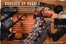 Roughed Up Rugged - Men / Perfectly distressed with a little workin' man's attitude, this collection makes you want to kick up a little dust. / by Buckle