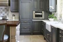 New House {Kitchen} / Kitchen ideas  / by Mandie Morris/ Altar'd