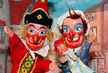 Puppets & Marionettes / Ideas for use in miniature toy theatres / by Sherri MacRaild