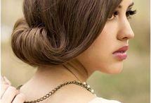 Bridesmaid Hair Styles / Ideas for hair for me for wedding / by Kellyann Ashmore