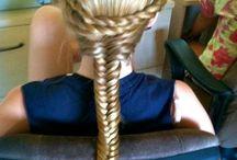 hair styles / by Ellie Kauffman