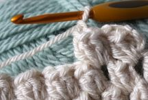 Crochet stitches and tutorials / by Gloria Hamilton