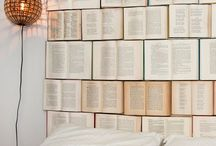 Decorate with Books / There are so many fun and cute ways to use your old books around the house!  / by Mixtus Media