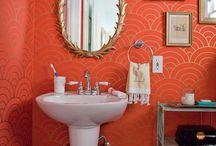 Bathrooms / Inspiration, colours, tiles etc  / by Emily Simpson