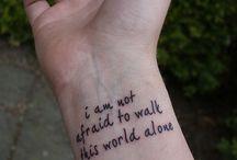 Ink ideas / Tattoo possibilities / by Misty Blum