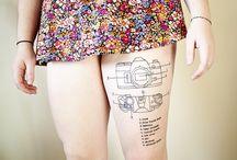 tattoos i like. / by Mot Lau