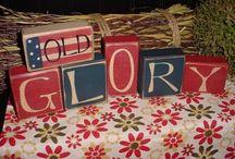 wooden blocks / by Gloria Cox