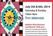 Madeira Beach Craft Festival / The 2nd Annual Madeira Beach Craft Festival ~ Saturday &  Sunday ~ 10am - 4pm ~ 7/5/14-7/6/14 ~ For more information, please visit www.ArtFestival.com / by American Craft Endeavors