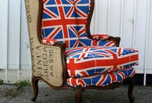 British Flag Love / by Madilyn Hofbauer