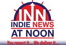 (INN) Indie News At Noon / Indie News at Noon You Report It! ~ We Deliver It!  Indie News At Noon is a location where Independent Artists can provide their news about album releases, concert dates and virtually anything else they'd like. INN takes that information and packages it for distribution, as a short audio newscast, to Independent radio stations around the globe. / by IndieConnectNYC