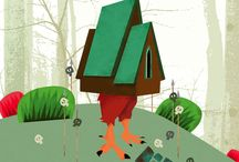 I want to be Baba Yaga's Hut for DCon / by Mel S