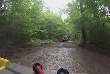 ATV/UTV Clam Lake Trails / Clam Lake, Wisconsin ATV/UTV Trails in Chequamegon National Forest / by Clam Lake Property Management LLC