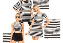 Mixed stripe / Snap up this retro stripe print! / by Motel Rocks