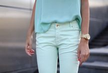 #What do you #MINT ? #Trend #2012 / This is the #colour of the #summer !!   a Mint clothe is a must have in your #wardrobe ...Here is below some examples and how to mix &match. Let's play Mint story together ... / by Coach MyStyle