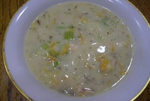 Food-Soups On / by Rose Landon