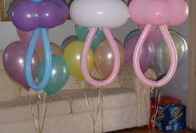 Balloon Ideas / by Stylish Eve