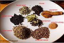 Food - Spices / Recipes were the right spice will make a difference OR I have a basic recipe that I want to improve upon. / by Sandy Vaughan