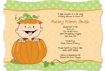 Fall/Halloween Baby Shower Theme / by Maternity and Baby Showers