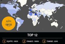 Cartes interactives / Des cartes interactives pour illustrer les actions et enjeux de notre diplomatie à travers le monde / by France Diplomatie